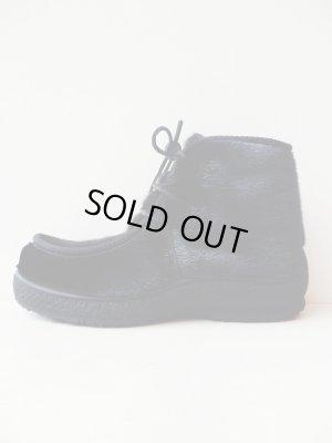 画像1: 【AUGUSTE×HICE】HICE Sealskin Boots-ブラック