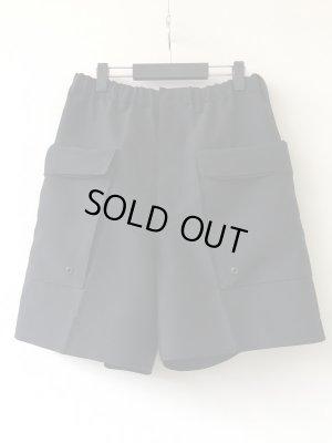 画像1: 【ESSAY】別注Tuck Shorts-ブラック