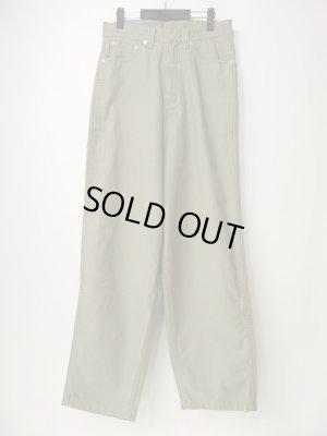 画像1: 【CLAMP】Crown Denim Pants-オリーブ